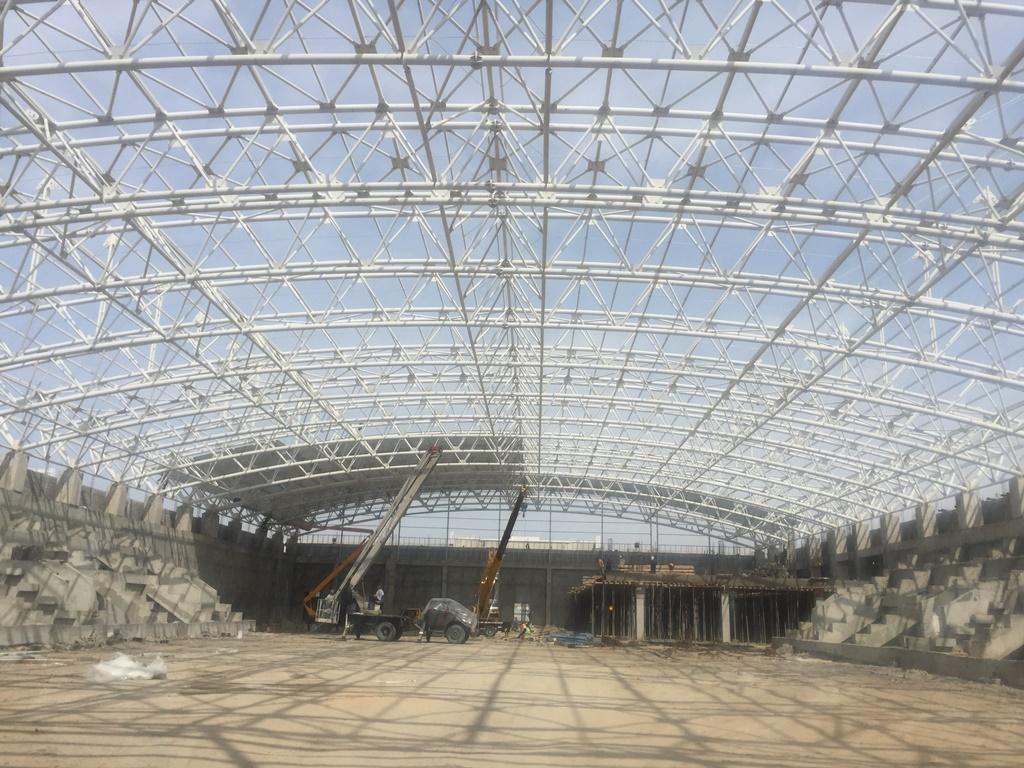 Olympic Complex Wrestling Building-Turkmenbasi-1