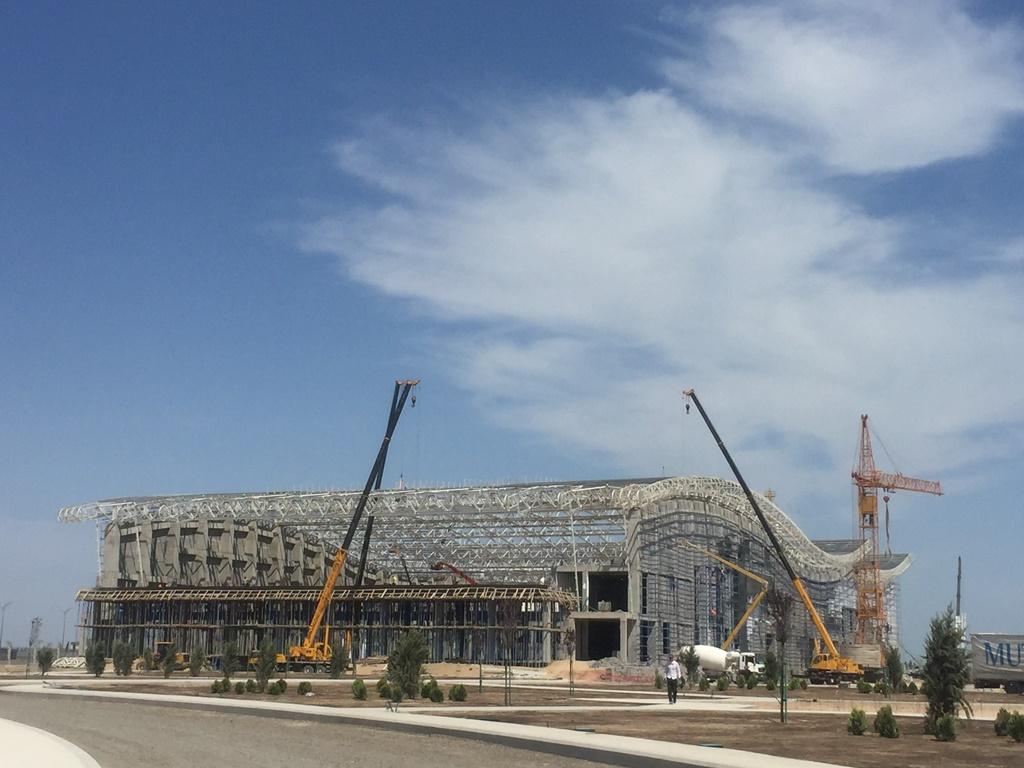 Olympic Complex Swimming Pool-Turkmenbasi