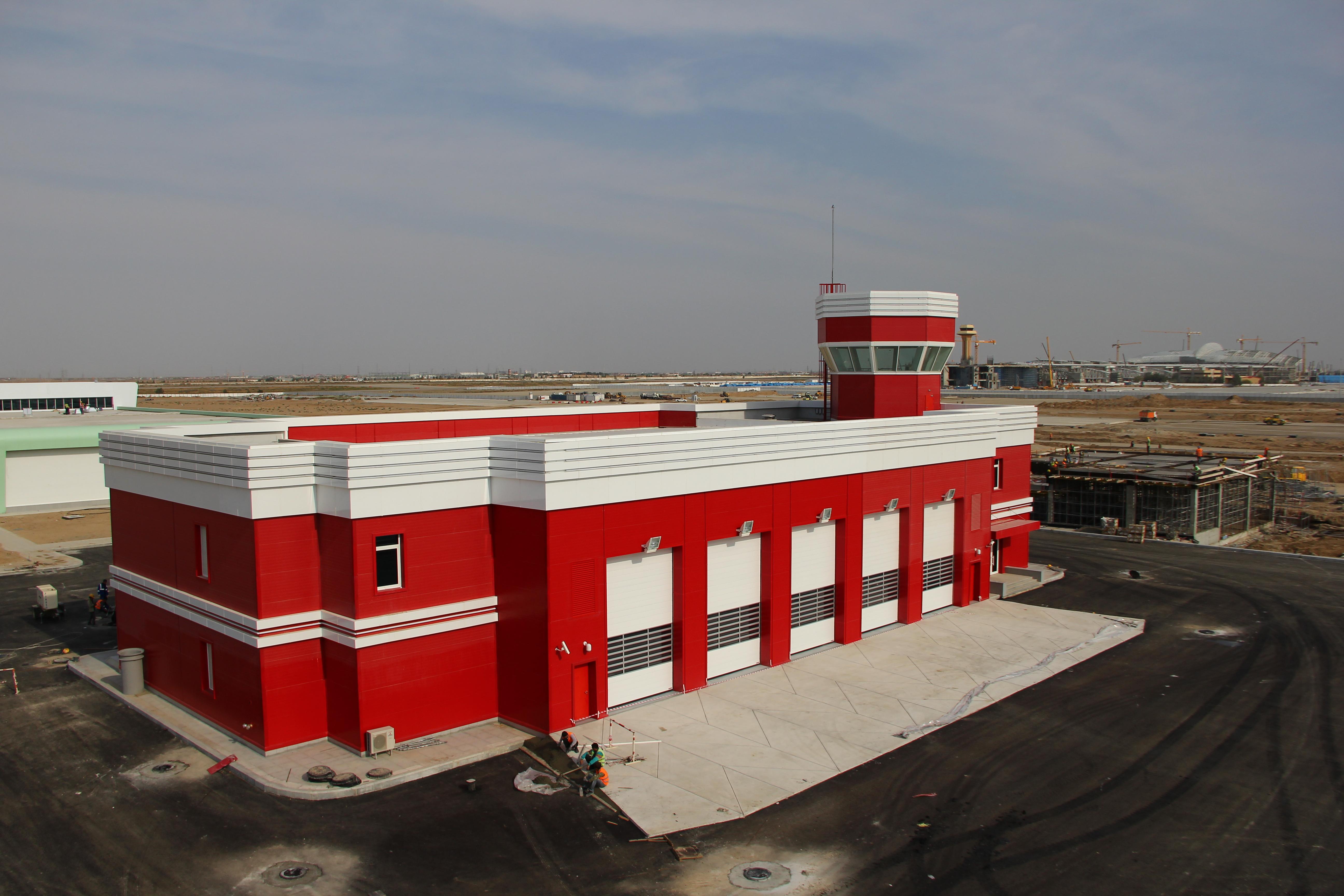 Aşkabat Havalanı İtfaiye Binası